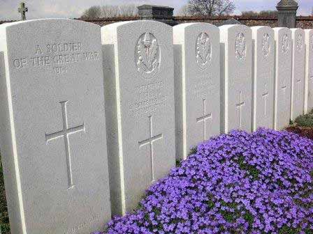 Unknown Soldiers' Graves at Audregnies
